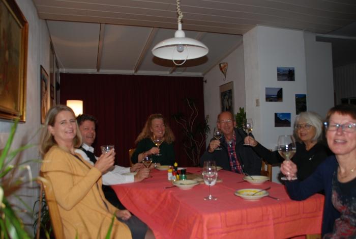Running Diner in Groenewoud
