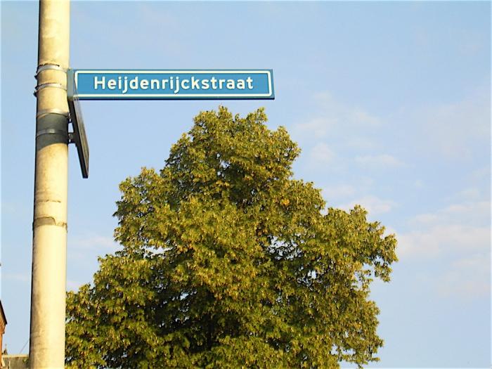 De kwestie Heydenrijckstraat/Heijdenrijckstraat