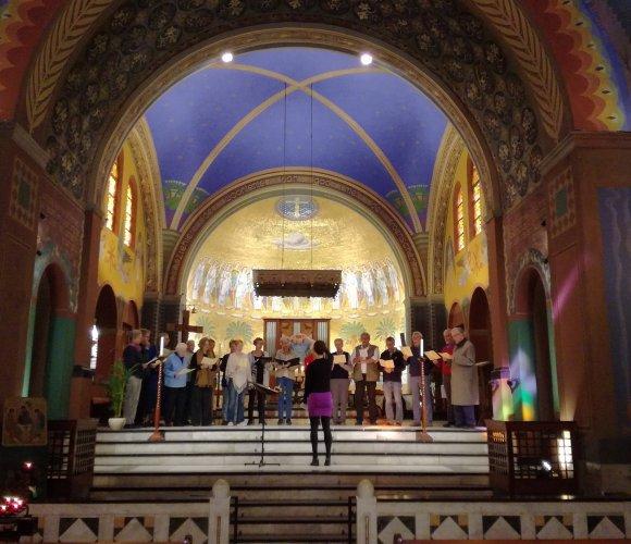 Vesper zingen in Cenakelkerk op zondagmiddag 24 maart