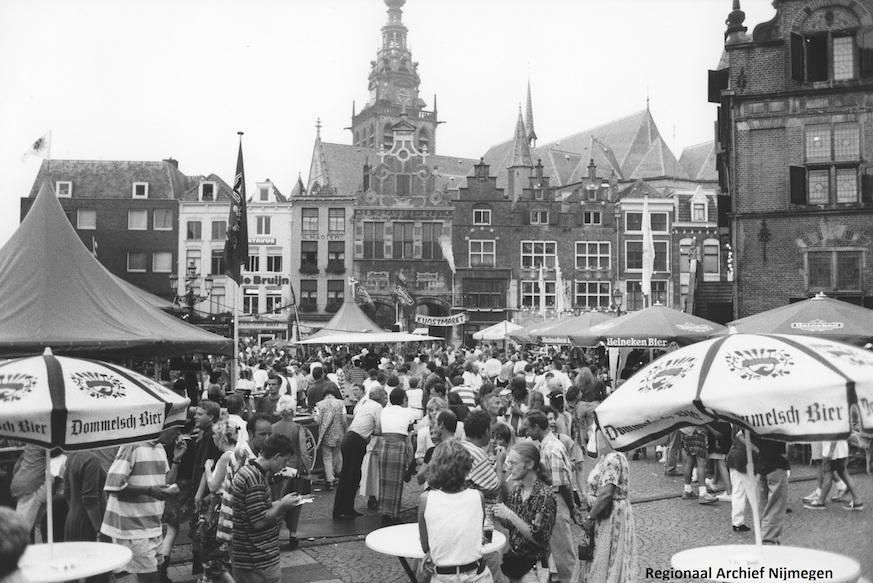 filmvoorstelling 'Nijmegen Blijft in Beeld' op 8 april