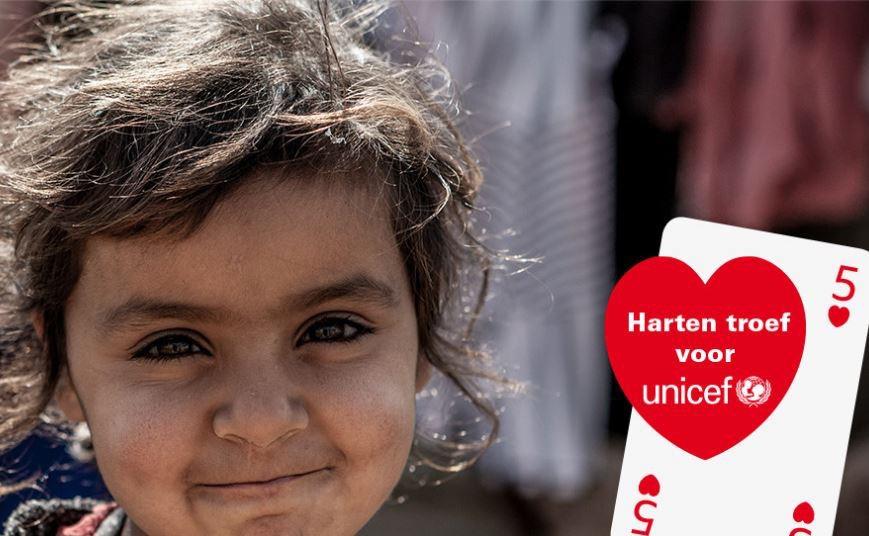 Vijfde Harten Troef voor UNICEF: bridgedrive in Berg en Dal