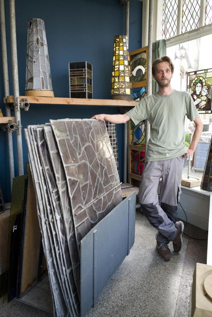 5 vragen aan ondernemer Peerke Koolen van het Glasatelier
