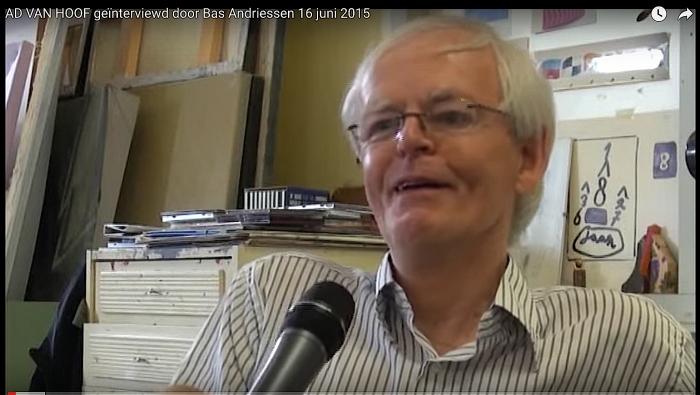 Ad van Hoof, kunstenaar uit Oost, overleden