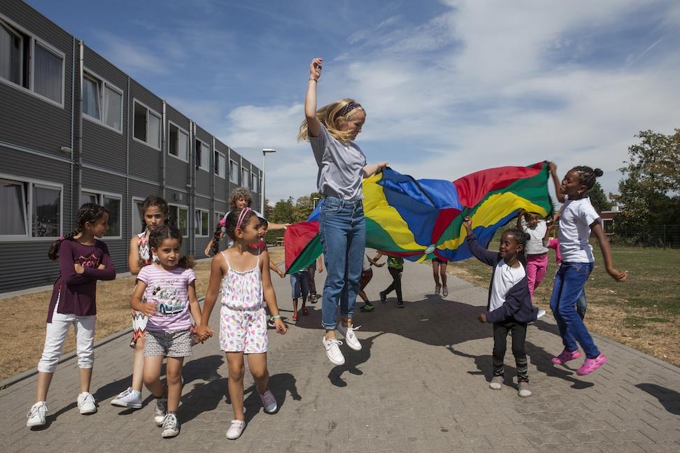 Sport- en spelbegeleiders gezocht voor gevluchte kinderen