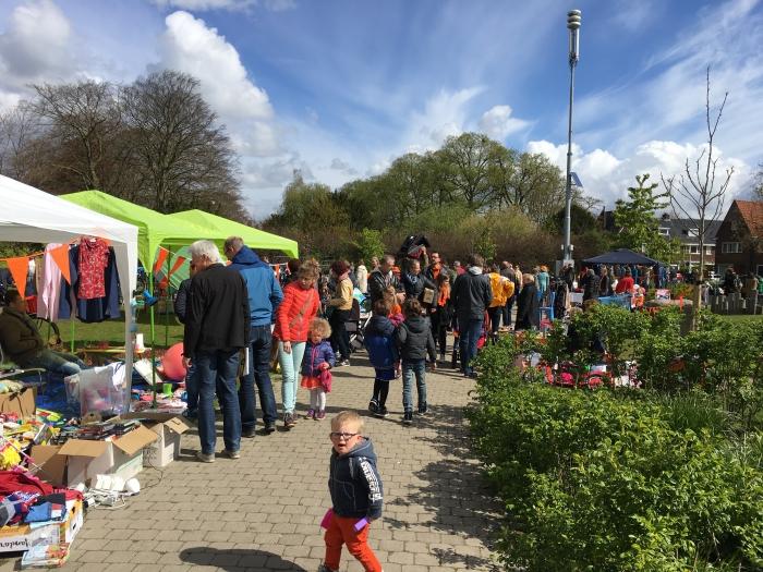 Kindervrijmarkt in het Truus Mast Park 2017