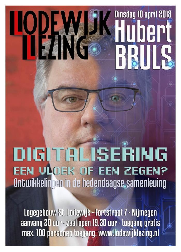 Lodewijk Lezing 2018 door Burgemeester Hubert Bruls